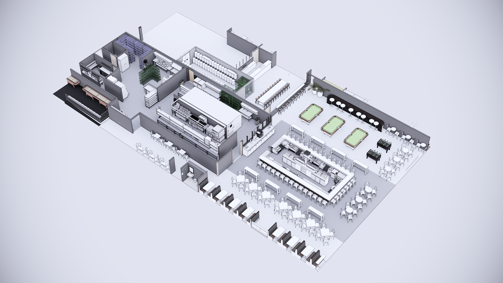 GPub 3 dimensional isometric blueprint rendering