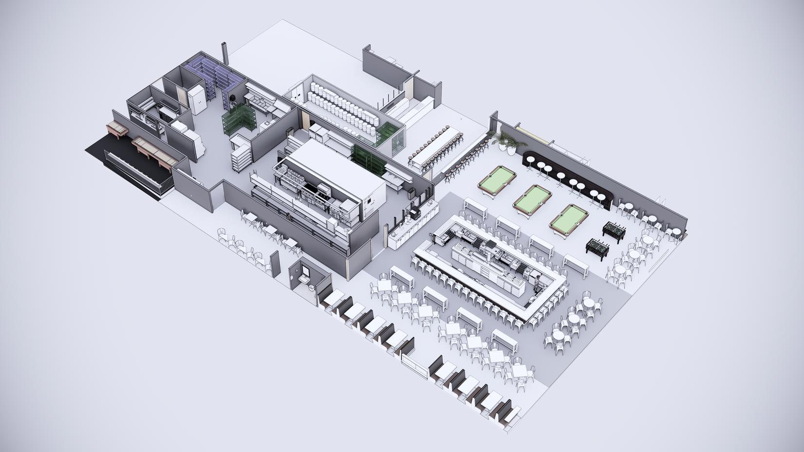 GPub 3 dimensional isometric blueprint rendering