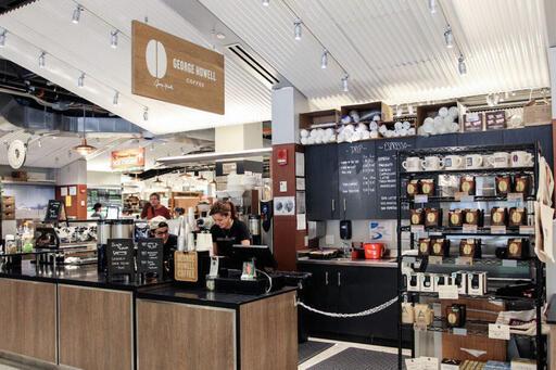 George Howell Coffee Roasters at Boston Public Market