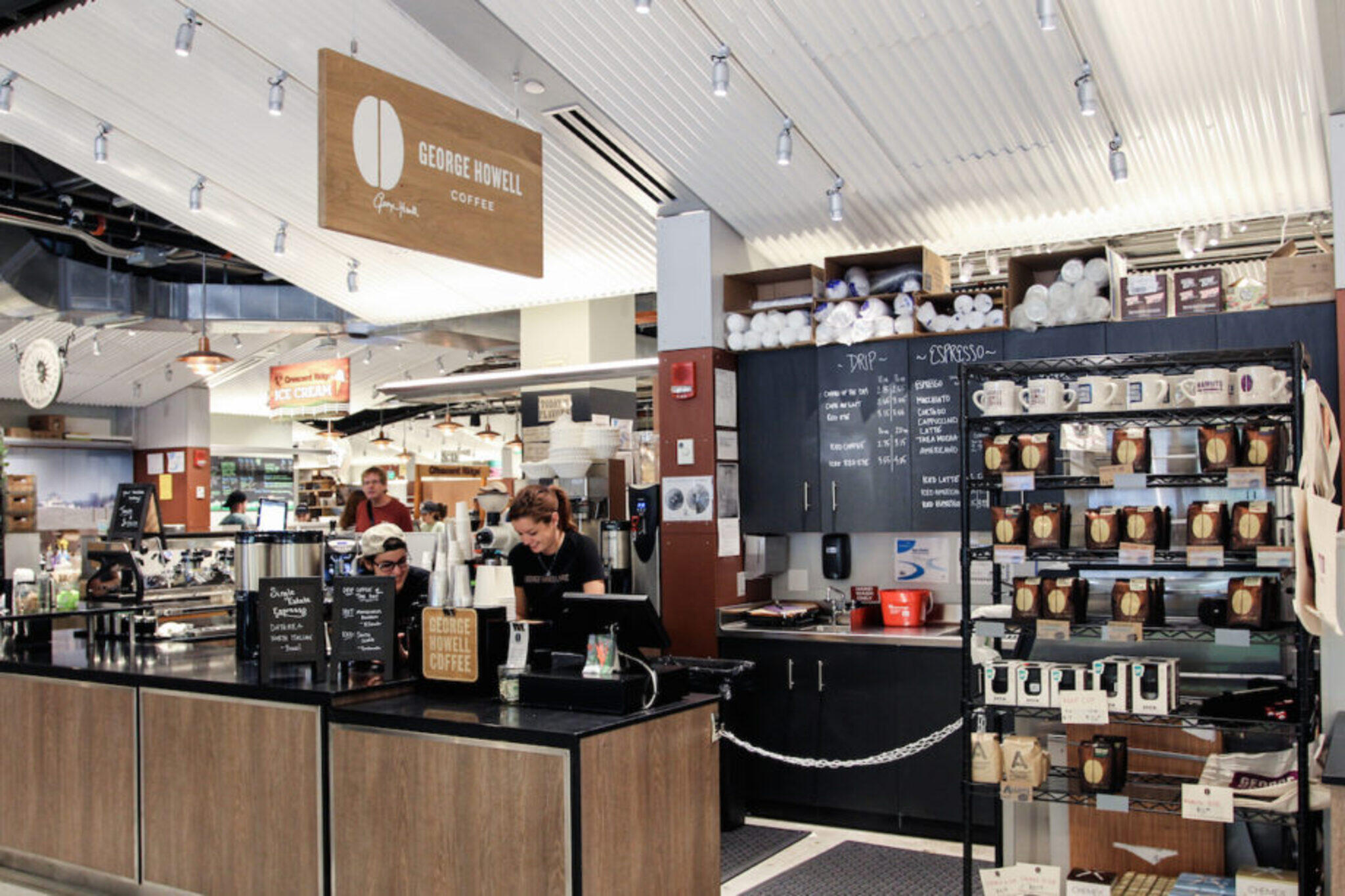 George Howell Coffee Roasters at Boston Public Market