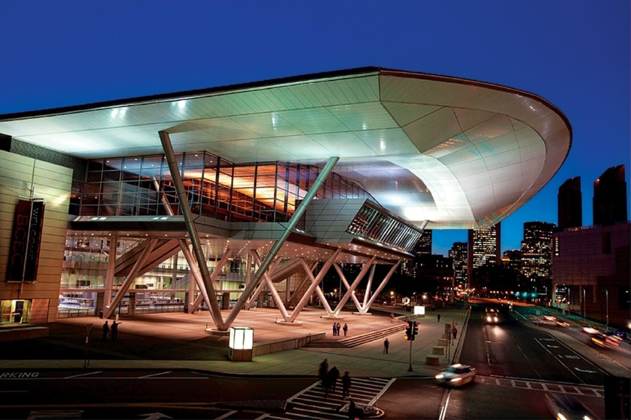 image of the Boston Convention Center in South Boston